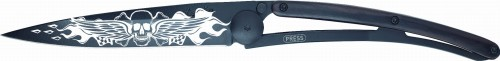 DEEJO Nóż składany Angels granadilla wood TATTOO 37 g 1GB109